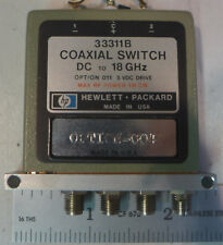 Agilent/HP 33311B SPDT Coaxial Switch