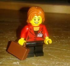 LEGO ® CITY FERROVIA RC DONNA CON VALIGIA minifig da ICE 60051 bricktrain