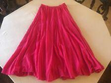 Cotton Ways Cotton Guaze One Size Fits All  Maxi Skirt Lagenlook $69.
