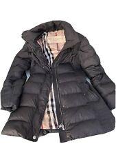 Authentic Burberry Women Down Long Jacket Sz S