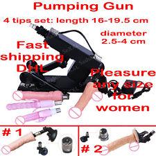 Sex_Machine_Fucking_Automatic Retractable Pumping Vibrator_Gun for Women 4 set
