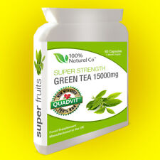 Green Tea Extract Capsules 15000mg, 60 Capsules, 95% polyphenol, Weight Loss