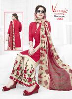 Soit doux Leon Punjabi Suit Indian Pakistan Trendy Salwar Kameez synthétique