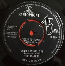 """THE BEATLES -Can't Buy Me Love- Rare UK 7"""" CBS/Oriole Contract Pressing (Vinyl)"""