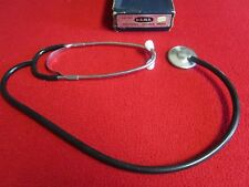 Antique USMS Double Head Non Chill Cardiology Clinical Medical Stethoscope 1970s