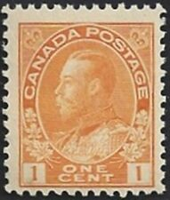 Canada  # 105  King George V Admiral Issue   Brand New 1922 Original Gum      03