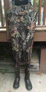 Lacrosse 1000 G Realtree Camo Neoprene Wader Boots Sz 13 Medium Fishing Hunting