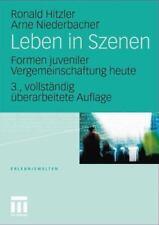 Leben In Szenen: Formen Juveniler Vergemeinschaftung Heute (erlebniswelten) (...