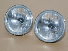 "4 1/2"" Diamond Cut Ice Auxiliary Passing Lamp Driving Spot Fog Lights For Harley"