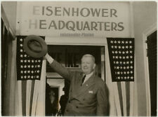 Eisenhower Campaign, Sen. Duff, Original Photo, 1952