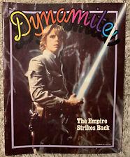 Dynamite Magazine Star Wars Empire Strikes Back 1980 Luke Skywalker Vintage #76