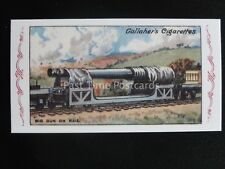 No.62 BIG GUN ON RAIL The Great War Series REPRO of Gallaher 1915