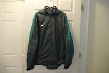 NEW Mens Sz XL NIKE Competition 13 Grey/Green Hoodie Soccer Jacket 612498-084