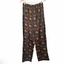 Reebok Cleveland Browns Silky Elastic Waist Pajama Pants Size L