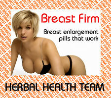 """Breast Firm®"" YOU CAN HAVE LARGER BREASTS SAFELY -  4 Month Supply - FREE P&P"