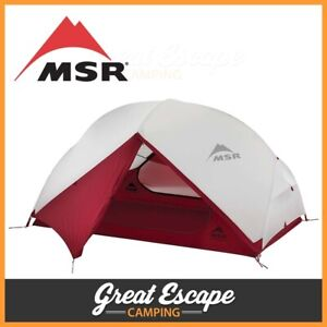 MSR Hubba Hubba Nx 2 Person Hiking Tent - Authorised Dealer Full Aus Warranty