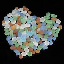 ca. 100g Seeglas Glasbrocken Glasscherben Glassteine Mosaikglas Buntglas Deko