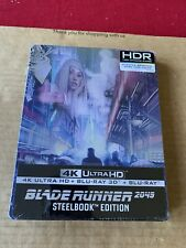 BLADE RUNNER 2049 4K UHD + BLU-RAY + 3D STEELBOOK NEW & SEALED RARE IMPORT