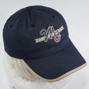 United States Marine Corp Camp Pendleton Hat cap OSFA blue strapback USMC navy