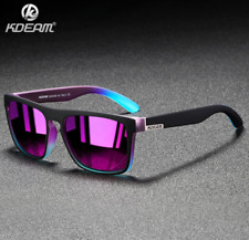 KDEAM Unisex Polarized Sport Sunglasses Square Outdoor Driving Fishing Glasses