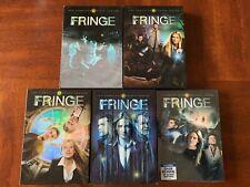 Fringe Seasons 1 2 3 4 5 DVD (North America)! Classic Sci Fi Series! Like New!