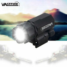 Tactical Police 5000LM Pistol Flashlight Torch Light  Gun Light Picatinny Rail