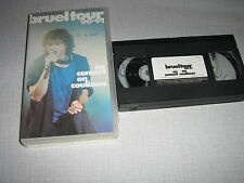 PATRICK BRUEL K7 VIDEO BRUEL TOUR 90-91 BREL