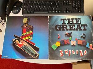 Sex Pistols Vinyl LP 740.509 and rock n roll swindle 1979 vintage Sid Vicious