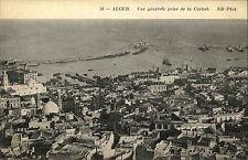 Algiers Alger Algeria Al-dschazā 'IR ~ 1910 Vue Generale prise de La Casbah Kasbah