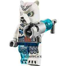 Lego Legends Of Chima 70230 Ice Bear Warrior 2 Minifigure With Weapon New D10