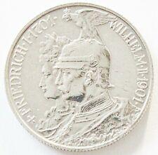 Deutsches Reich 2 Mark 1901 A Preußen 200 Jahre Königreich Silber