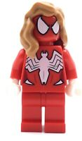 LEGO SPIDER GIRL MINIFIG SUPER HEROES AUTHENTIC FIGURE