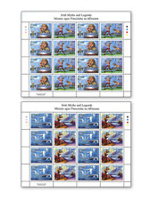 IRL1222ARK Myths and legends Irealand Full Stamp Sheet MNH 2 pcs. 2012