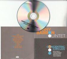 KENNY BARRON QUINTET Concentric Circles UK 11-trk promo test CD + press release