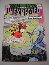 """TALES OF THE UNEXPECTED"" #56 12/60 EARLY SPACE RANGER! MYRA GETS SUPER-POWERS!"