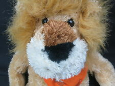 BIG BROWN LION JC PENNY HARLEY DAVIDSON BANDANNA BIKE RIDER PLUSH STUFFED WEEK