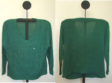 Northcrest Women's Heavy Pull Over V Neck Sweater Sizes 1X 2X 3X or 4X