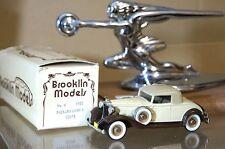BROOKLIN modelli 6 1932 Packard luminosa 8 Convertibile Coupè Roadster Beige MIB