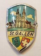 St. Gallen, Switzerland Stocknagel, Hiking Medallion, Pin, Shield, Badge GP5-30