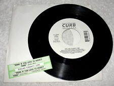 """Dallas County Line """"Honk If You Love To Honky Tonk"""" 45 RPM, 7"""", 1995, +Jukebox"""