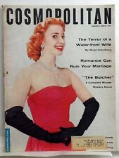 COSMOPOLITAN magazine March 1954 Womens INTEREST Audrey MEADOWS Vol 136 No 3