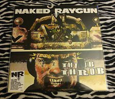 NAKED RAYGUN Throb Throb LP Chicago Effigies KBD Articles Of Faith punk HC