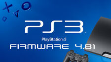 PS3 4.81 Update offizielle Firmware Playstation 3 Software FW OFW