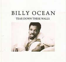BILLY OCEAN tear down thee walls CD ALBUM rca ZD 71630 gun for hire pleasure