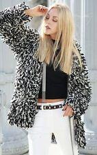 BNWT Isabel Marant H&M Sweater Jacket Cardigan Modern Minimal Black & White
