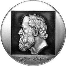 Medaille auf den Königlich Sächsischen Hofrat Dr. Julius Erbstein, Silber