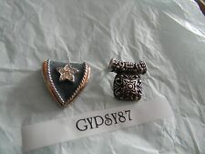 Premier Designs BAILEY and blue crystal pendant RV $52 FREE shipping w/bin