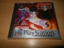 Tekken 3 SONY PLAYSTATION 1 PS1, nuevo Sellado De Fábrica PAL