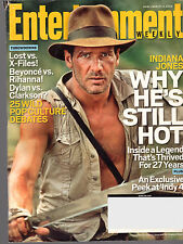 Entertainment Weekly INDIANA JONES - March 14 2008 NM