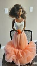 Peaches 'n Cream 1984 AA African American Barbie Doll DEBOXED